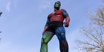 Body Paint Photo Competition Online and Live Events