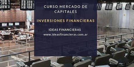 Curso Integral Mercado de Capitales. Primeros pasos en la Bolsa Argentina. entradas