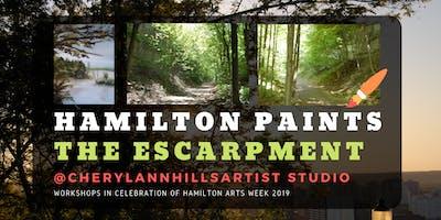 Hamilton Paints the Escarpment 2 - Hamilton Arts Week 2019