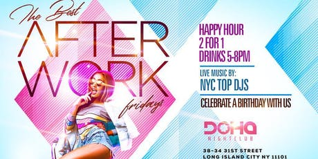 Friday Best After Work and Happy Hour tickets