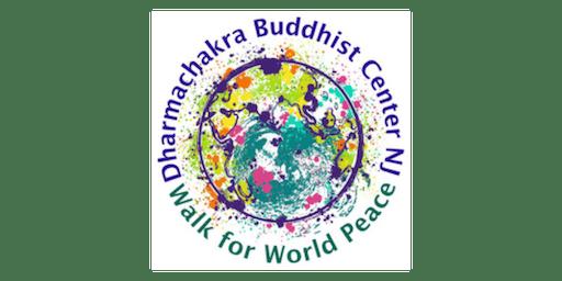 Dharmachakra Buddhist Center Walk for World Peace