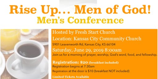 Rise Up...Men of God!  Men's Conference