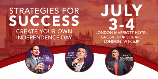 Strategies for Success - Creating your Independence Day 4 JULY 2019