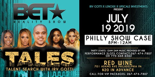 BET⭐️ TALES TALENT SEARCH WITH IRV GOTTI!!