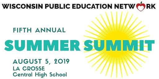 Wisconsin Public Education Network Summer Summit 2019
