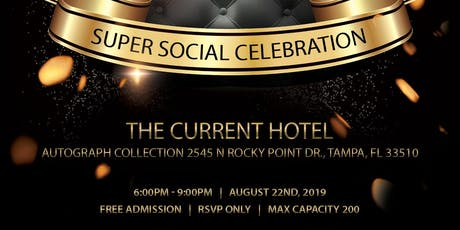 2 Year Anniversary SUPER SOCIAL Celebration On The RoofTop! (Free Event) tickets