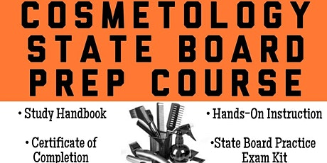 COSMETOLOGY STATE BOARD PREP COURSE tickets