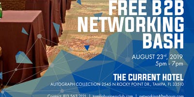 The Biggest Social of the year! Free B2B Networking Extravaganza Tampa Bay! Over 500 expected!