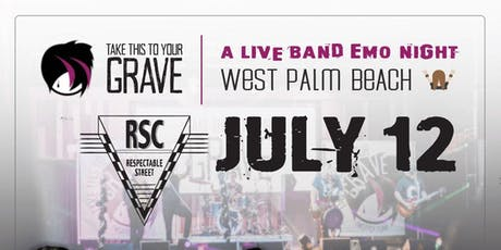 Take This To Your Grave - Live Band Emo Night tickets