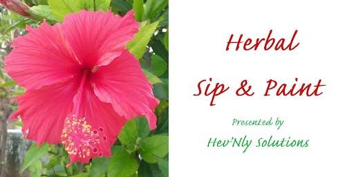 Herbal Sip & Paint