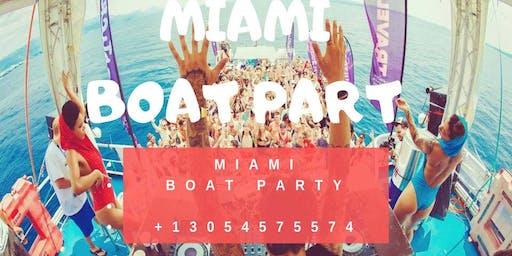 Miami Boat Party Unlimited Drinks -Jet Ski & Banana boat