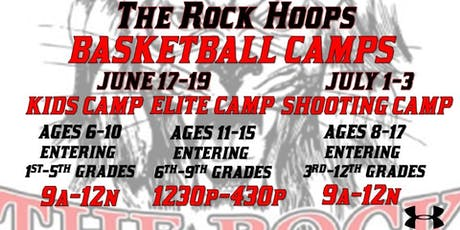 The Rock Hoops Basketball Camps  tickets