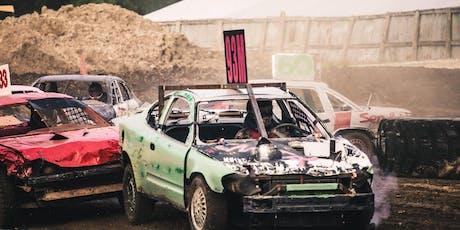 """Demolition Derby """"Night of Destruction"""" @ the Lake Odessa Fair tickets"""