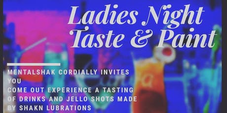 Ladies Night Taste & Paint tickets