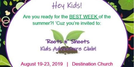 Roots n' Shoots : Kids Adventure Club Day Camp! tickets