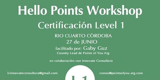 Certificación: Herramientas creativas para entrenamiento y desarrollo.