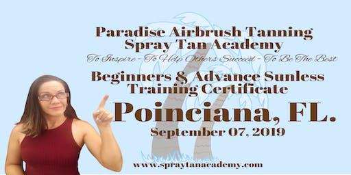 Spray Tan Academy™ BronzeUp Sunless Tour - Spray Tan Training - Beginners & Advance