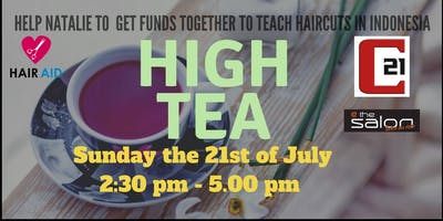 High Tea Fundraising afternoon for Natalie\