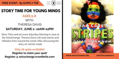 Story Time For Young Minds (ages 5-8)