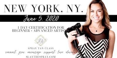Spray Tan Training | Slay the Spray Sunless Tour New York, NY