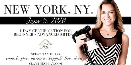 Spray Tan Training | Slay the Spray Sunless Tour New York, NY tickets