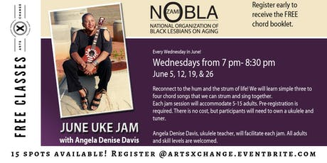 June Uke Jam for Adults  tickets