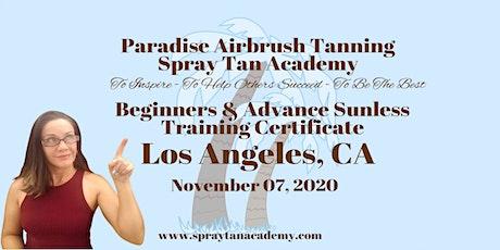 Spray Tan Academy™ BronzeUp Sunless Tour - Sunless Training  & Certificate tickets