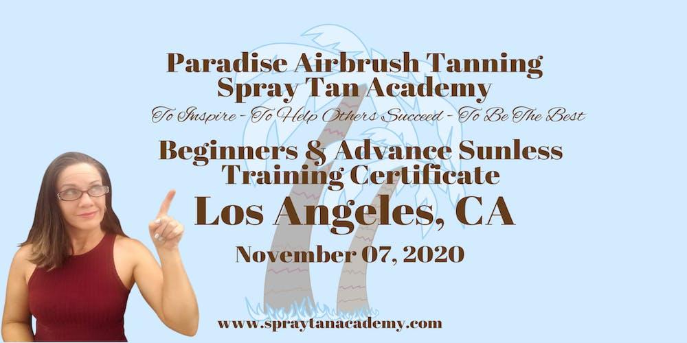 Best Sunless Tanner 2020 Spray Tan Academy™ BronzeUp Sunless Tour   Sunless Training