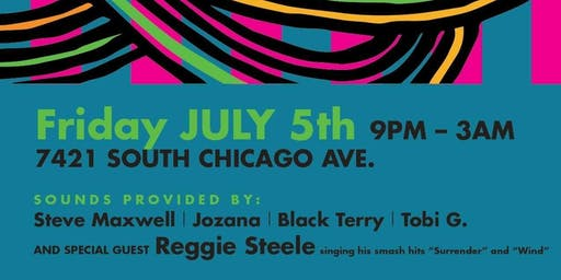 Arise Radio & Rhythm Factory present Jabula 8 with Live PA from Reggie Steele!!