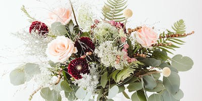 2 Hour Luxury Hand Tied Bouquet Course
