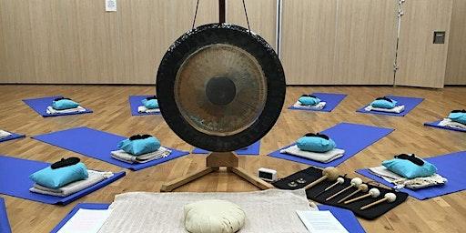 Gong Bath: De-stress and Relax