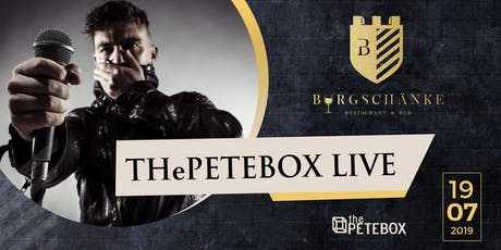 The Petebox Live Konzert Tickets