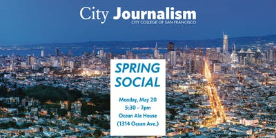 City Journalism Spring Social