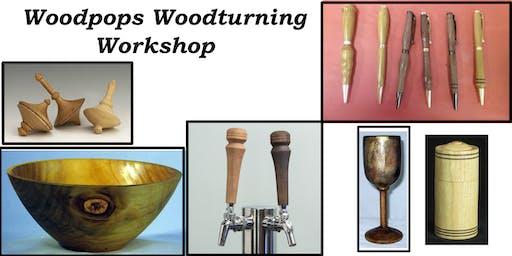 Woodturning 2-Day Workshop(Sat & Sun) Woodpops Woodturning Workshop