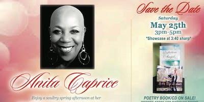 TAPN2U Spoken Word w/Author & Spoken Word Artist Anita Caprice @DBC!