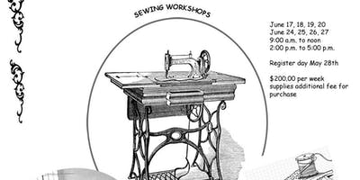 One week Fashion Design Sewing Workshop