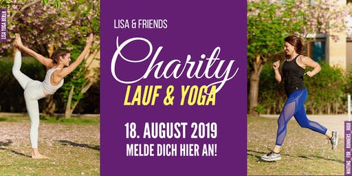 Lisa & Friends - CHARITY LAUF & YOGA 2019