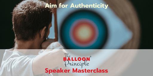 Balloon Principle Speaker Masterclass - Sydney NSW
