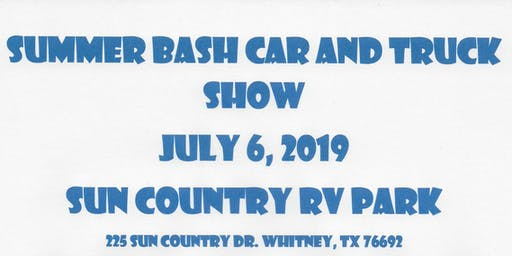 Summer Bash Car and Truck Show