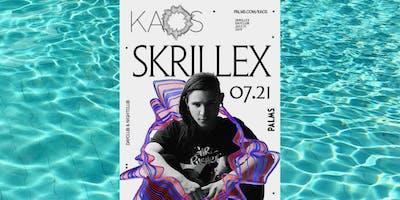 SKRILLEX @ KAOS DAYCLUB FREE SHOW! 7.21 GUESTLIST - EACH MAN NEEDS LADY!