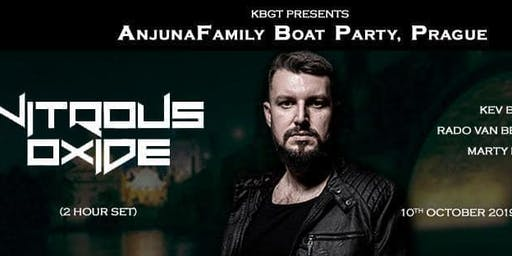 Anjunafamily Prague Boat Party with Nitrous Oxide