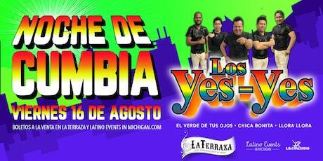 Noche de Cumbia con Los Yes Yes entradas