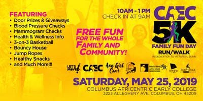 CAEC Family Fun Day and 5k