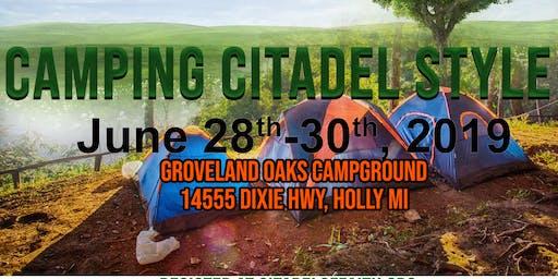 Camping Citadel Style