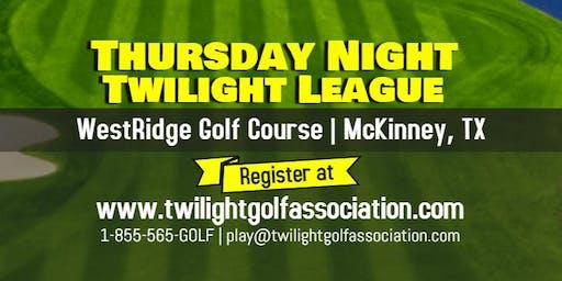 Thursday Twilight League at WestRidge Golf Course