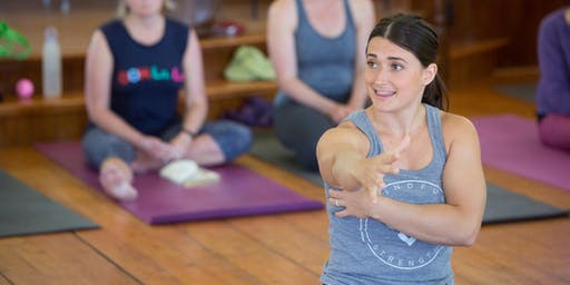 Mindful Strength Weekend Workshop with Kathryn Bruni-Young