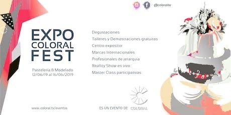 Expo COLORAL Fest 2019 - Pastelería & Modelado entradas