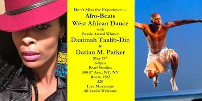 Afrobeats Meets West African Dance Class