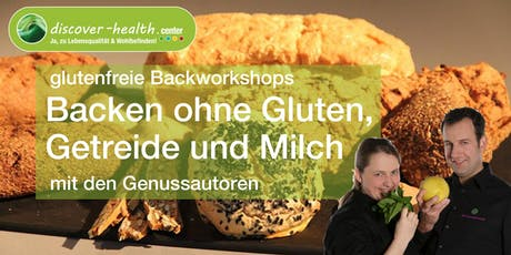 glutenfreie Backworkshops mit den Genussautoren Tickets