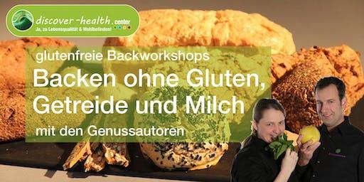 glutenfreie Backworkshops mit den Genussautoren